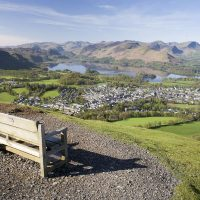 View of Keswick and beyond from Latrigg