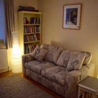 Downstairs lounge (self-catering)