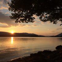 Sunset on Derwentwater, by Ruth