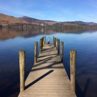 Derwentwater from Borrowdale, by Ruth