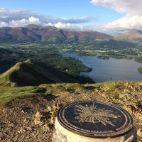 View to Cumbria House from Catbells by Ruth