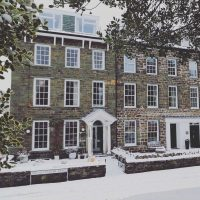 Cumbria House in winter